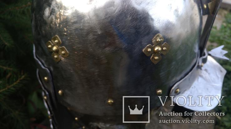 Шлем Польского крылатого гусара 17 век. (Копия), фото №8