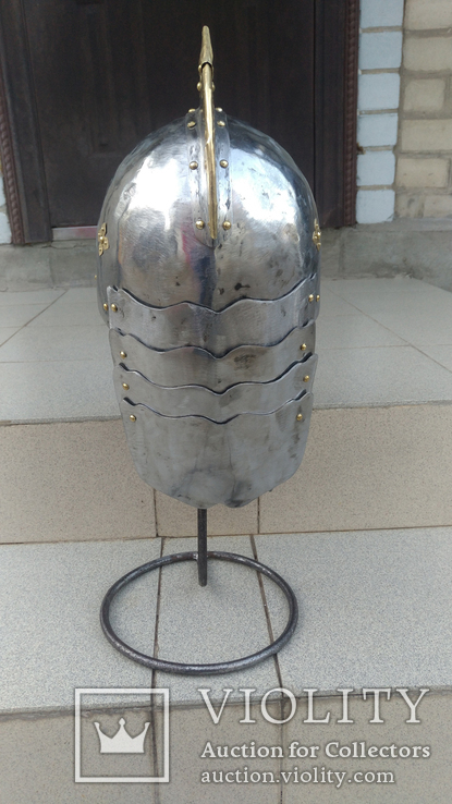 Шлем Польского крылатого гусара 17 век. (Копия), фото №9