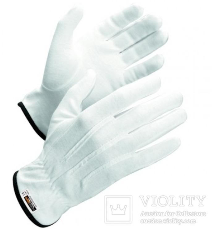 Нумизматические перчатки из хлопка