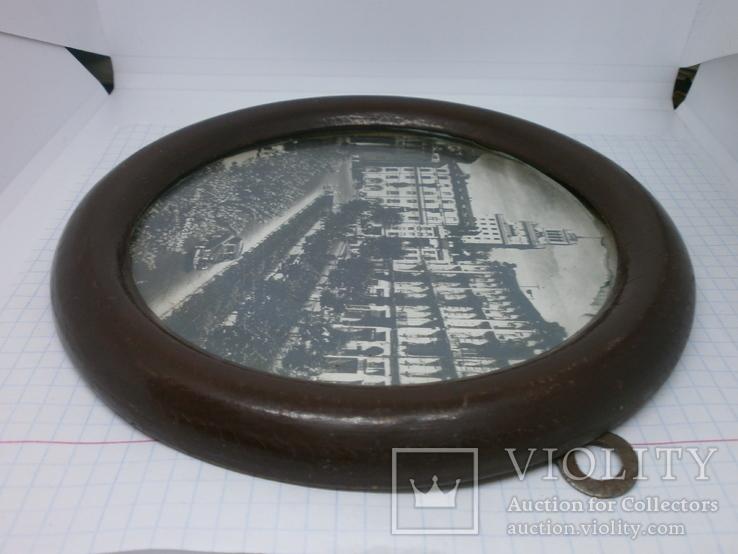 Фотография Киев ул Бассейная в круглой раме. 160мм, фото №6