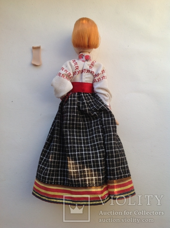Фарфоровая кукла на резинках под востановление, фото №3