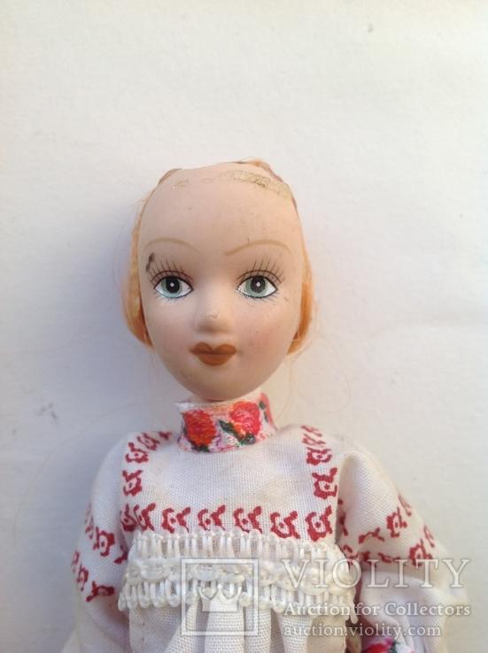Фарфоровая кукла на резинках под востановление, фото №5
