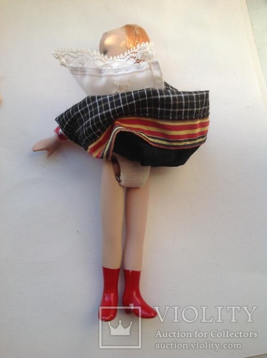 Фарфоровая кукла на резинках под востановление, фото №6