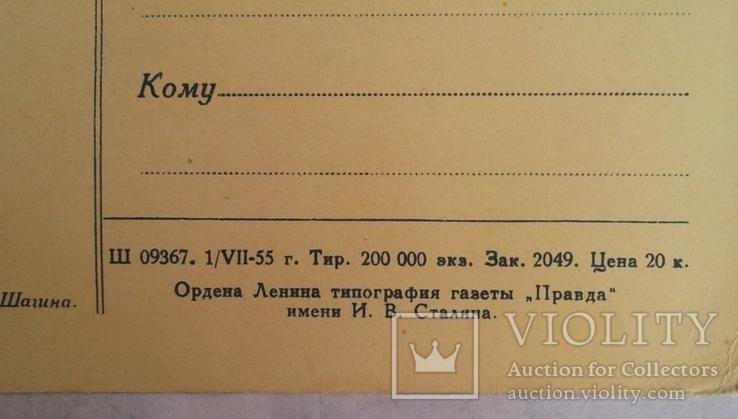 """""""Москва. Смоленская набережная"""", 1955г., фото №5"""