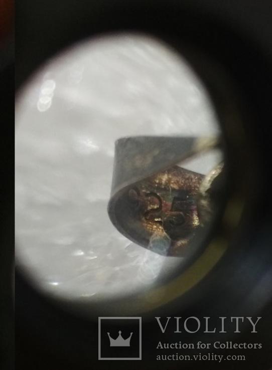 Кулон незабудки серебро 925, фото №4