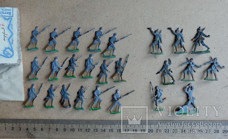 Солдатики оловянные - Heinrichsen - немец. пехота., фото №4
