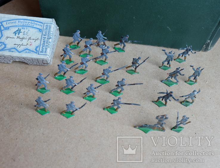 Солдатики оловянные - Heinrichsen - немец. пехота., фото №6
