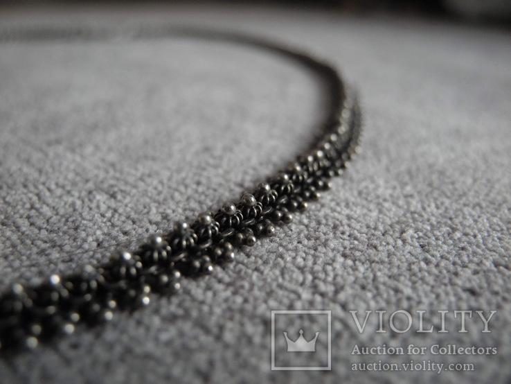 Серебряное ожерелье (серебро 925 пр, вес 18 гр), фото №3