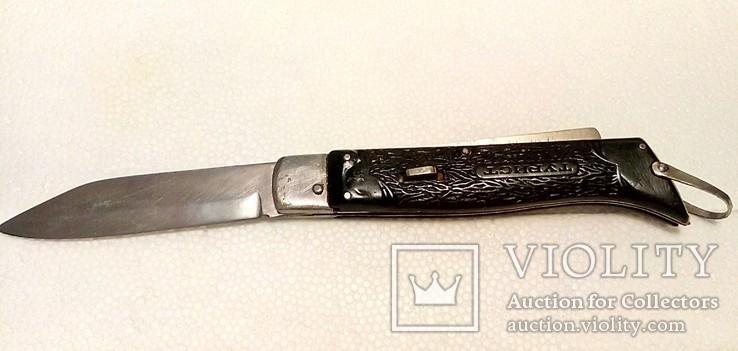 Нож СССР.Турист-выкидной.Завод