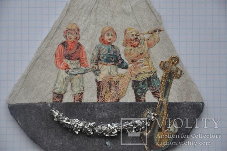 Кораблик с рыбаками, фото №5