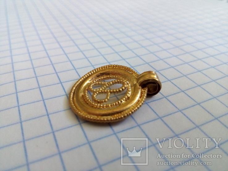 Амулет Au ЧК Символ Плодородия+Бонус au, фото №7