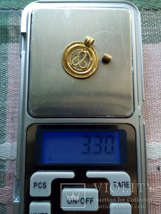 Амулет Au ЧК Символ Плодородия+Бонус au, фото №3