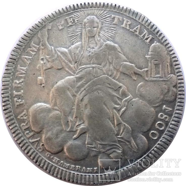 1 скудо 1800 Ватикан, срібло, фото №3