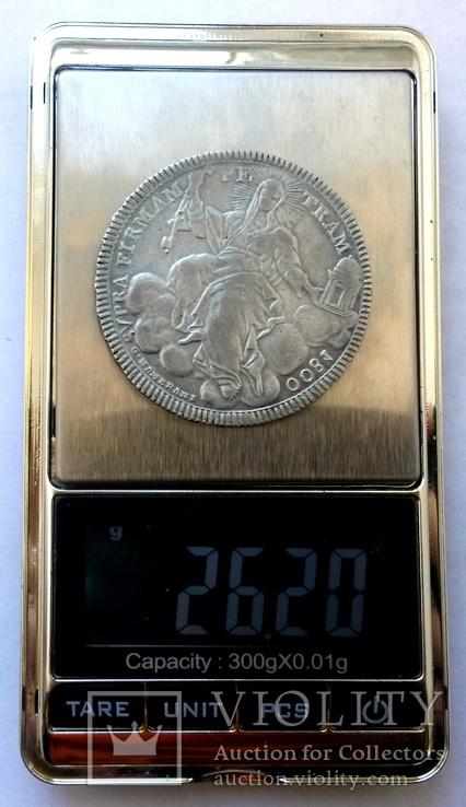 1 скудо 1800 Ватикан, срібло, фото №10