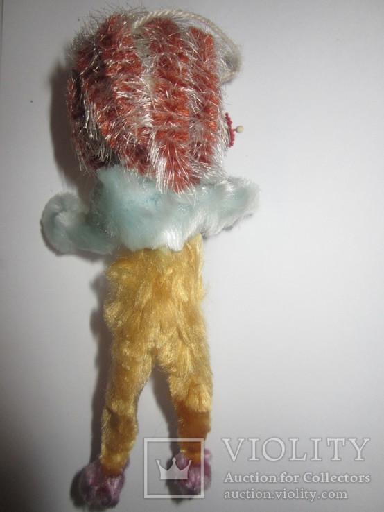 Ёлочная игрушка ёжик ёж с цветами ГДР, фото №4