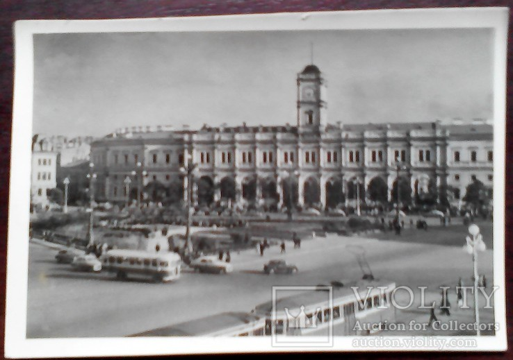 Ленинград Московский вокзал, фото №2