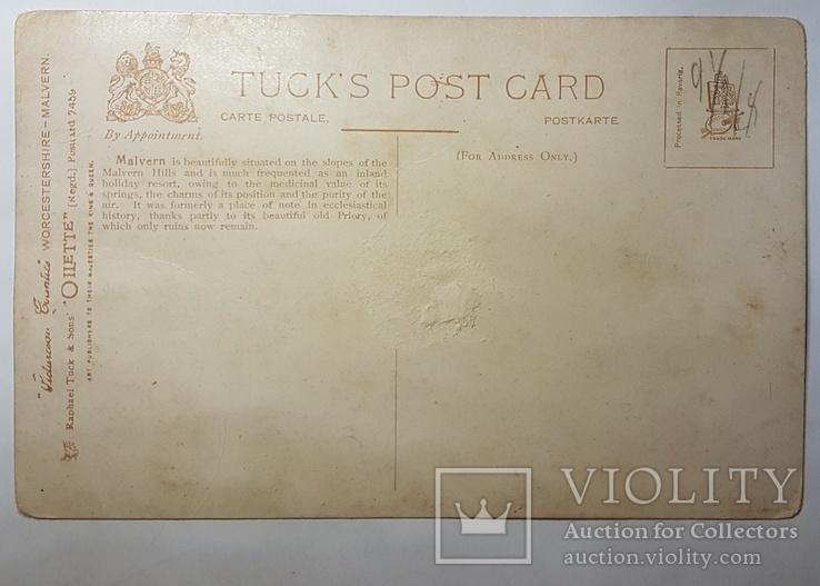 Старинная английская открытка, фото №3