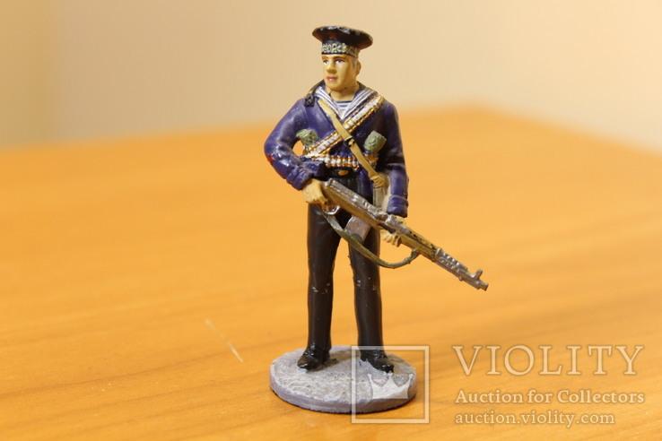 Оловянный солдатик. Краснофлотец морской пехоты Черноморского ВМФ 1941-1943 гг., фото №2