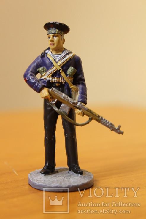 Оловянный солдатик. Краснофлотец морской пехоты Черноморского ВМФ 1941-1943 гг., фото №3