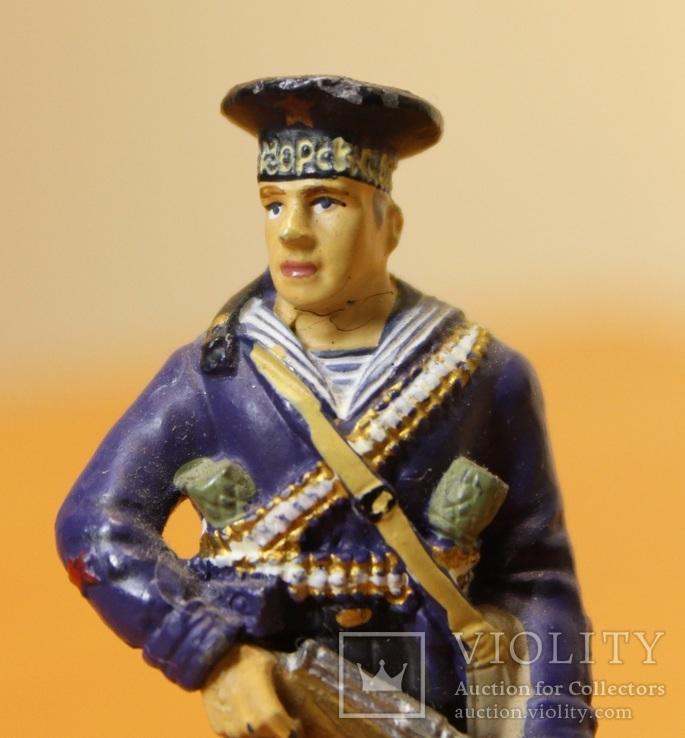 Оловянный солдатик. Краснофлотец морской пехоты Черноморского ВМФ 1941-1943 гг., фото №4
