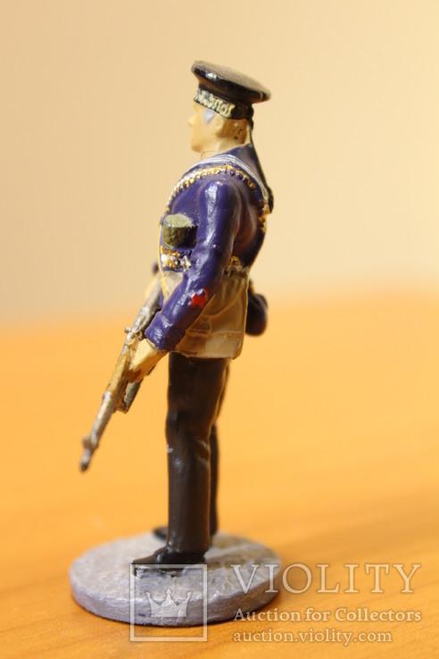 Оловянный солдатик. Краснофлотец морской пехоты Черноморского ВМФ 1941-1943 гг., фото №5