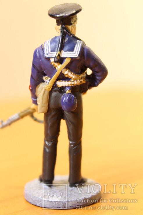 Оловянный солдатик. Краснофлотец морской пехоты Черноморского ВМФ 1941-1943 гг., фото №6