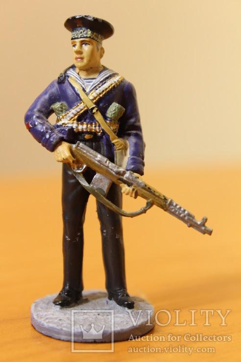 Оловянный солдатик. Краснофлотец морской пехоты Черноморского ВМФ 1941-1943 гг., фото №8