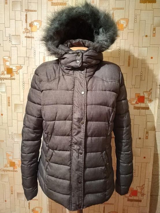 Куртка теплая зимняя JEAN PASCALE p-p L, фото №2