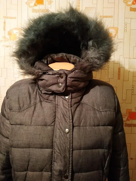Куртка теплая зимняя JEAN PASCALE p-p L, фото №4