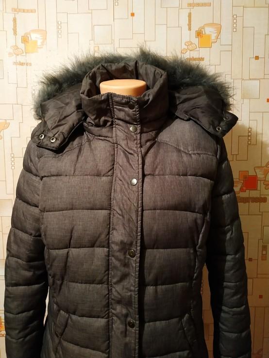 Куртка теплая зимняя JEAN PASCALE p-p L, фото №5