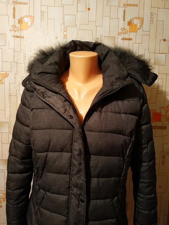 Куртка теплая зимняя JEAN PASCALE p-p L, фото №7