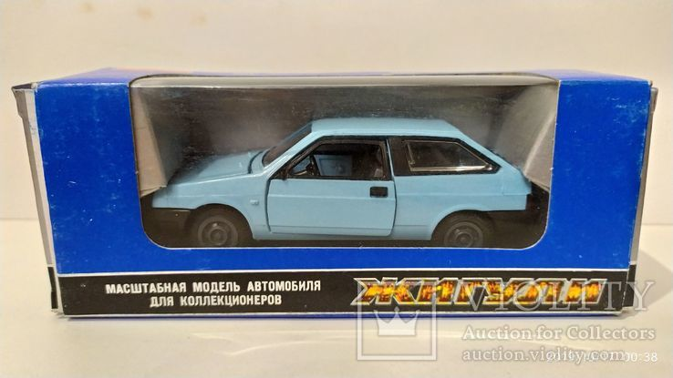 ВАЗ 2108 голубая, с коробкой ИЮН 1990 г.,  Lada , Жигули