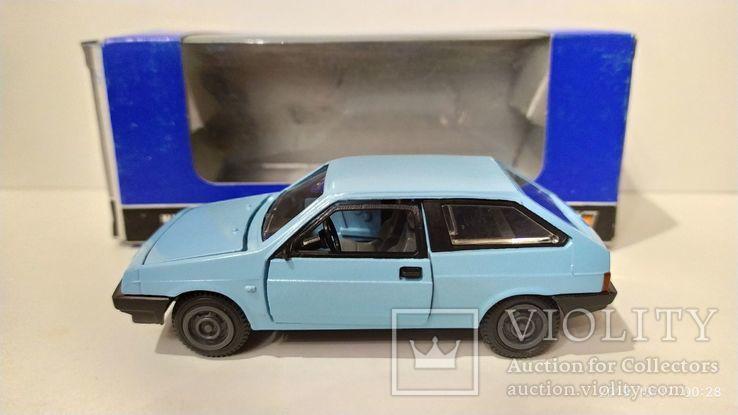 ВАЗ 2108 голубая, с коробкой ИЮН 1990 г.,  Lada , Жигули, фото №4