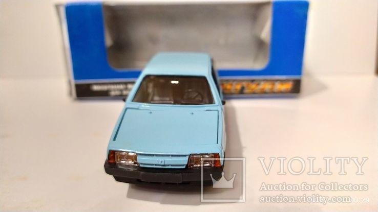 ВАЗ 2108 голубая, с коробкой ИЮН 1990 г.,  Lada , Жигули, фото №5
