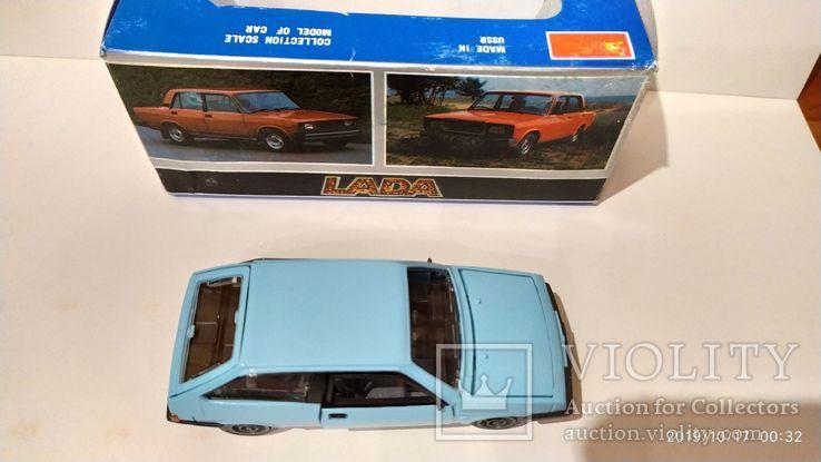 ВАЗ 2108 голубая, с коробкой ИЮН 1990 г.,  Lada , Жигули, фото №11