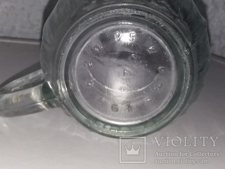 Пивной бокал 16 прямых граней, фото №10