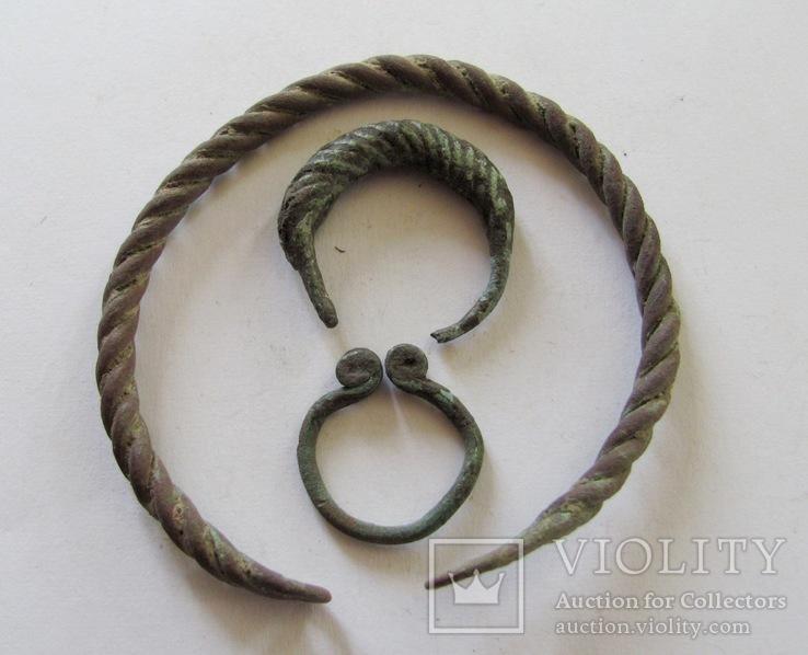 Витой браслет, колечка период КР, фото №2