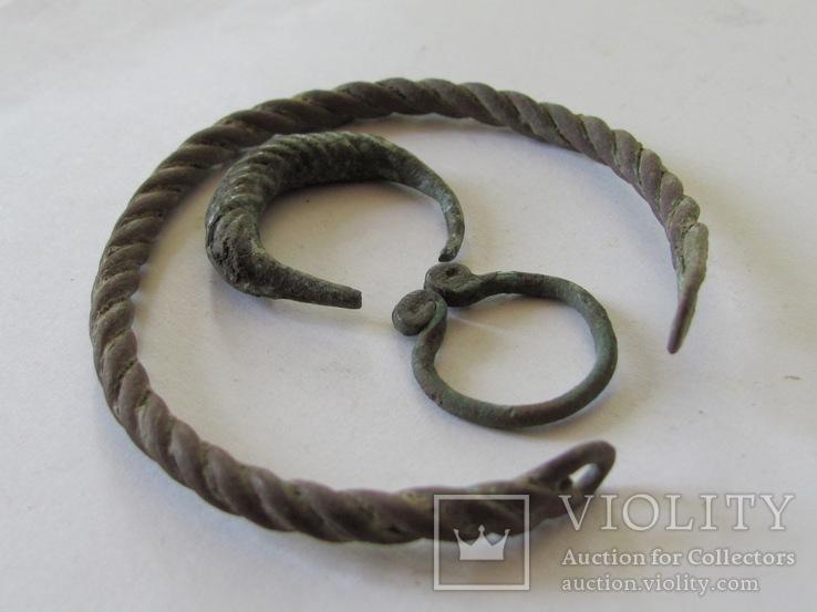 Витой браслет, колечка период КР, фото №4