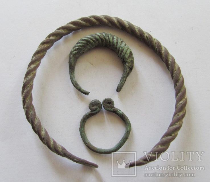 Витой браслет, колечка период КР, фото №5