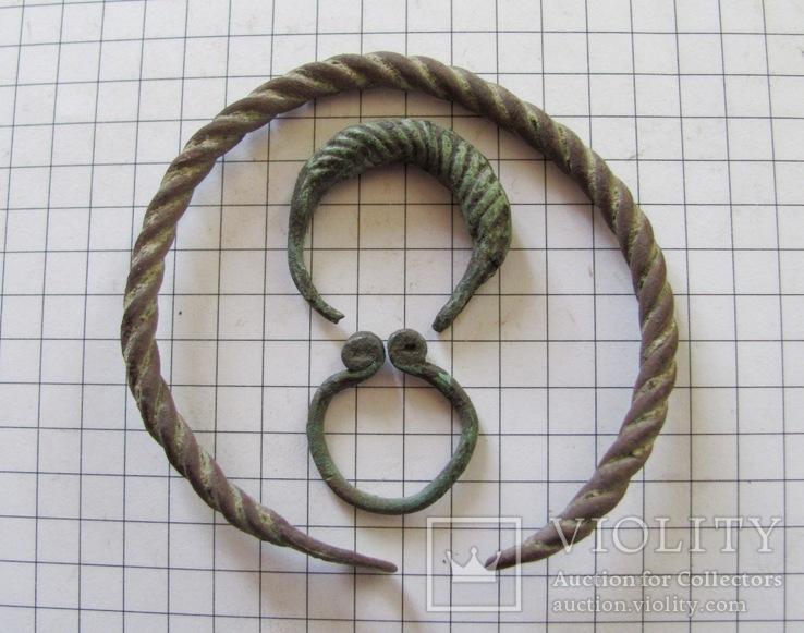 Витой браслет, колечка период КР, фото №8