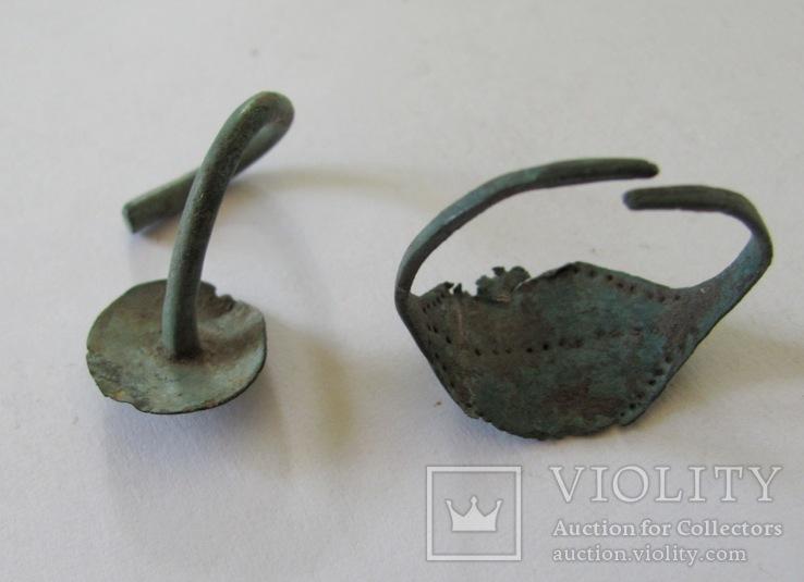 Скифская серьга и колечко, фото №3