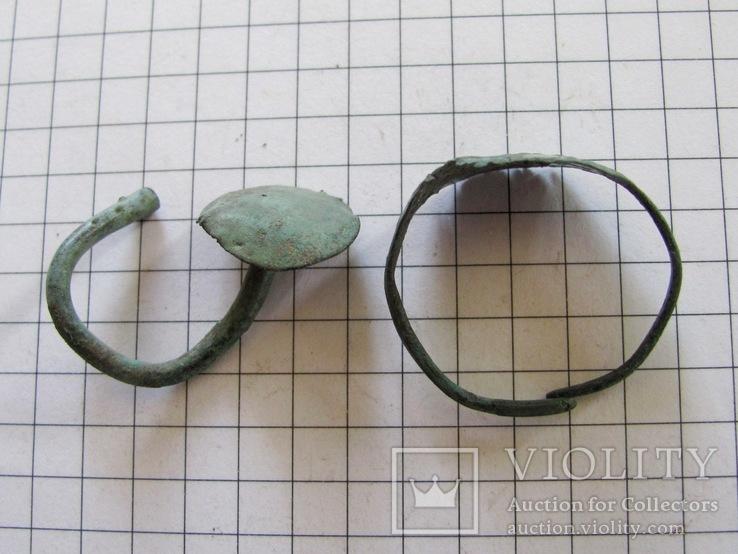 Скифская серьга и колечко, фото №8