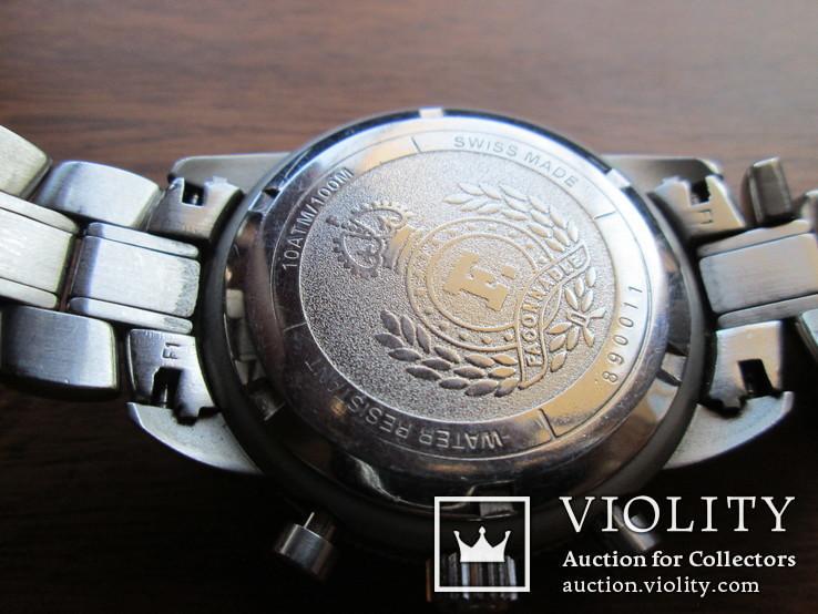 Швейцарские часы FACONNABLE Хронограф  Новые(не ношенные), фото №10