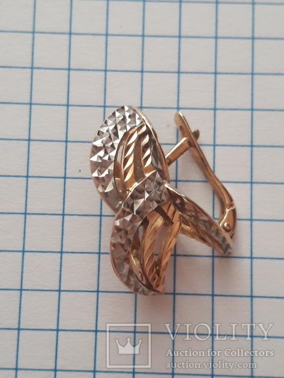 Серьги золото 4 грм. 700грн /за грамм, фото №2