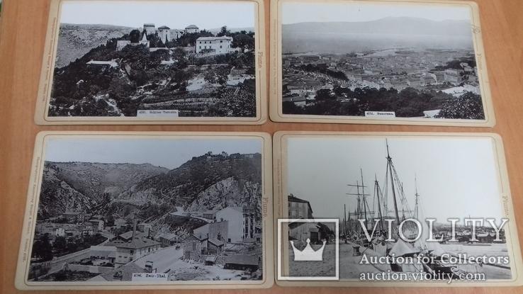 Набор фото г. Риека (Fiume) 1896г 12 шт. Изд. Stengel & Markert. Дрезден. Пейзажи, фото №5