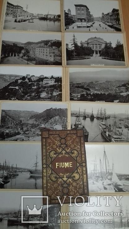Набор фото г. Риека (Fiume) 1896г 12 шт. Изд. Stengel & Markert. Дрезден. Пейзажи, фото №7