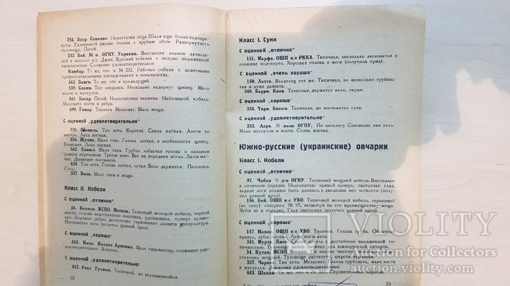 Отчет всесоюзного смотра служебного собаководства 1932 год., фото №5
