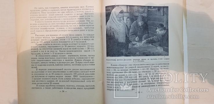 Колхоз на подъёме  1958 год. тираж 7 тыс., фото №6