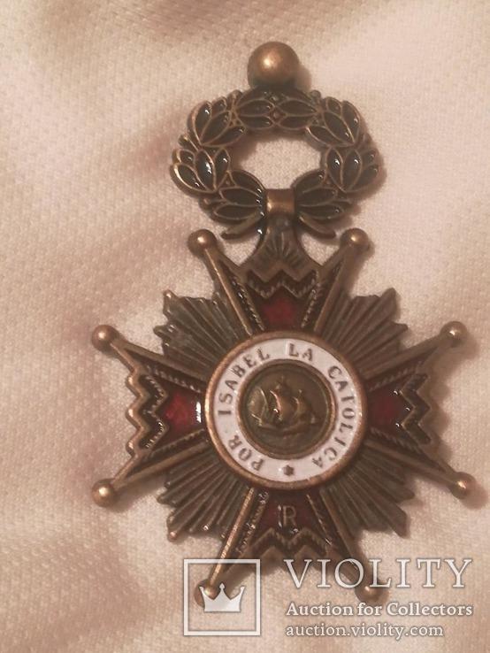 Орден Изабеллы Католической, фото №3