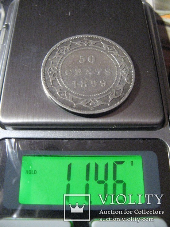 50 центов 1899г.  Ньюфаунленд, фото №5